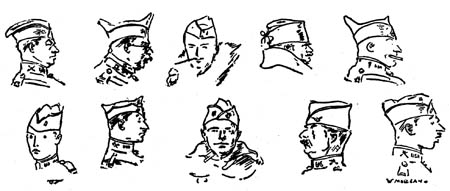 The W.W. I Overseas Cap Will Remain <br />(Stars and Stripes, 1919)