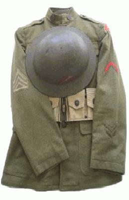 WW1 US Army Togs