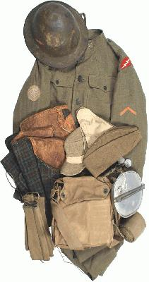 WW1 US Army Uniform