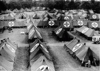 WW2 Field Hospital article