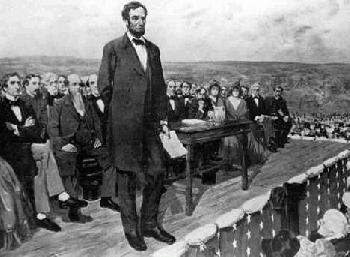 article about the 1863 Gettysburg Address