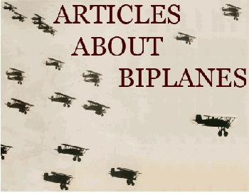 biplane aviation history articles