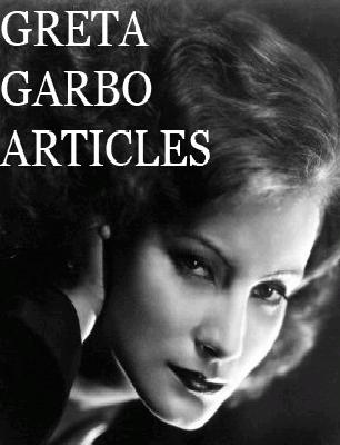 greta garbo articles