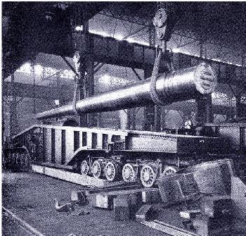Firing from the Rails <br />(Sea Power Magazine, 1918)