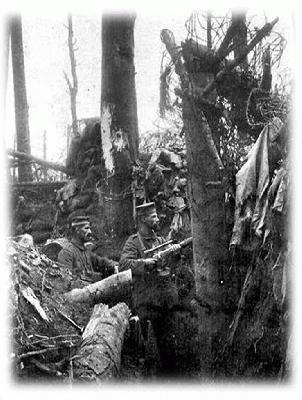 ww1 picture of german-sniper