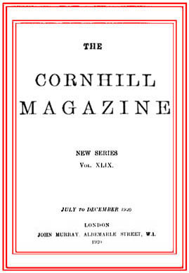 The Cornhill Magazine Articles