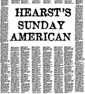Hearst's Sunday American Articles