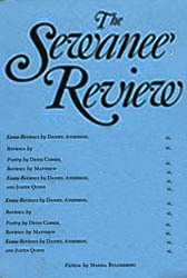 The Sewanee Review Articles