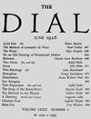 The Dial Magazine Articles
