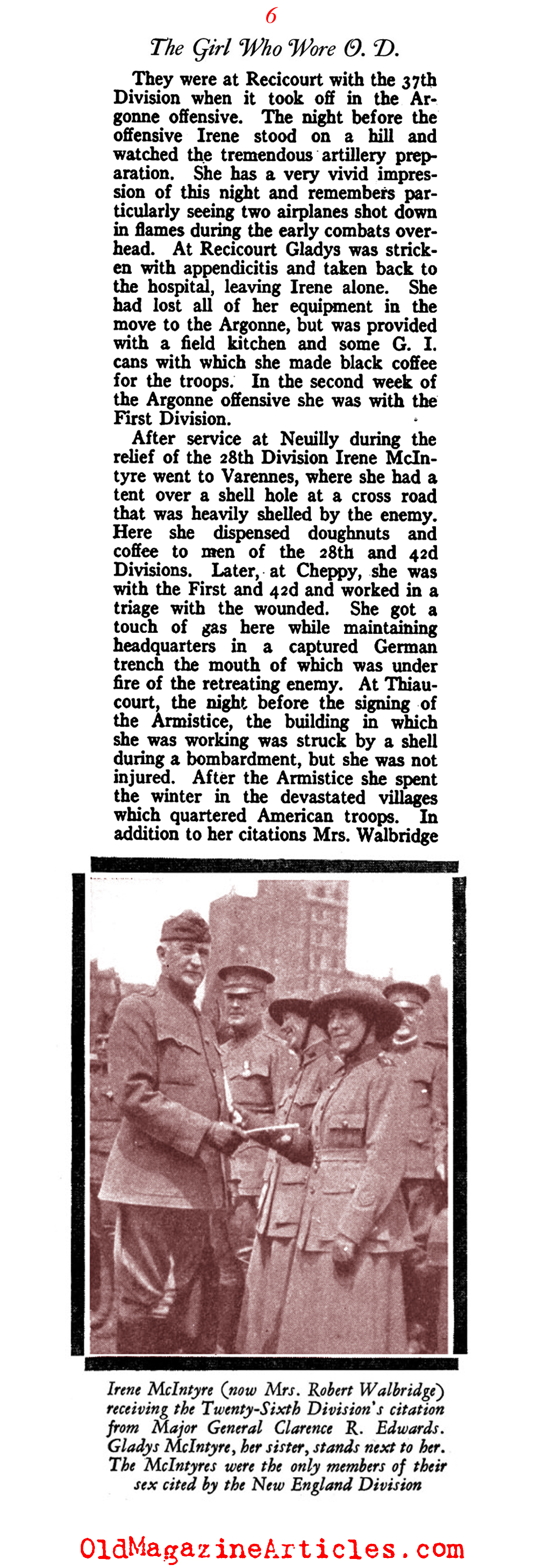A Woman in the Salvation Army (American Legion Monthly, 1928)