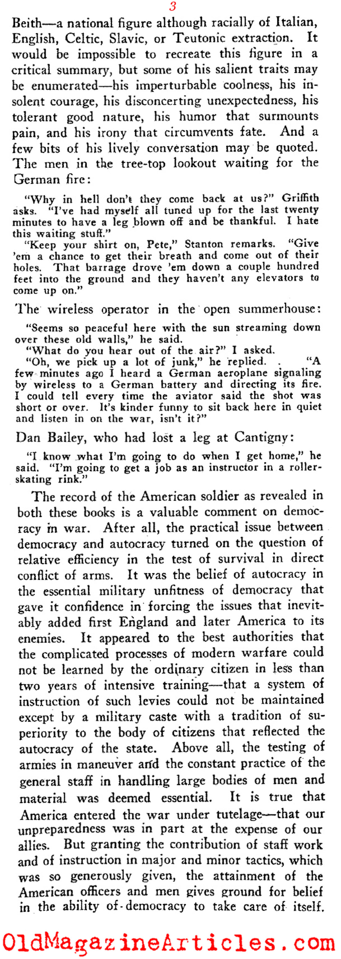A Review of Two W.W. I Books (The Dial Magazine, 1919)