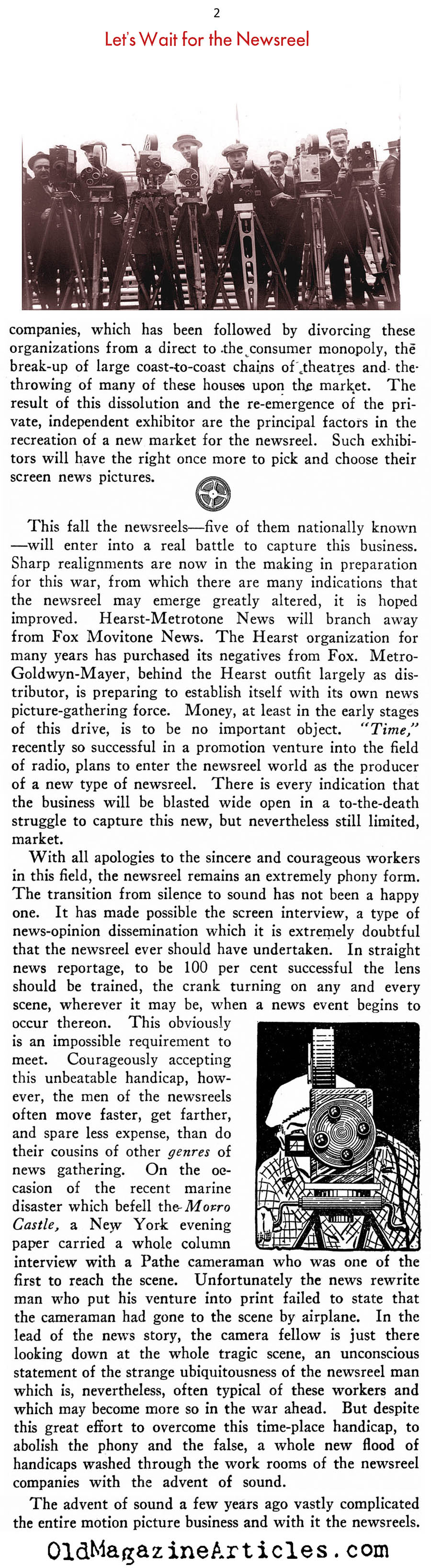 Fake News? (New Outlook Magazine, 1934)