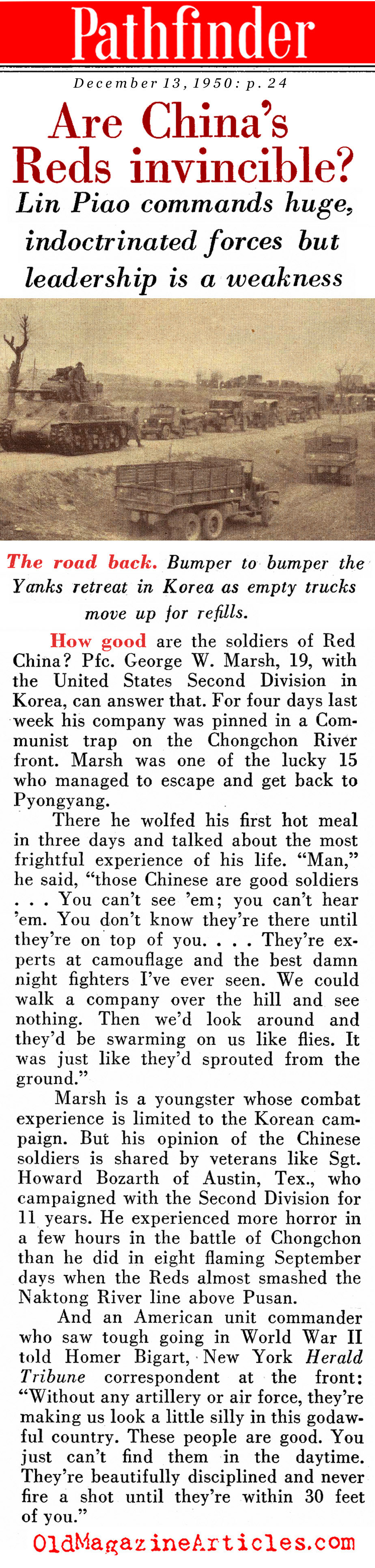 The Invincible Chinese? (Pathfinder Magazine, 1950)
