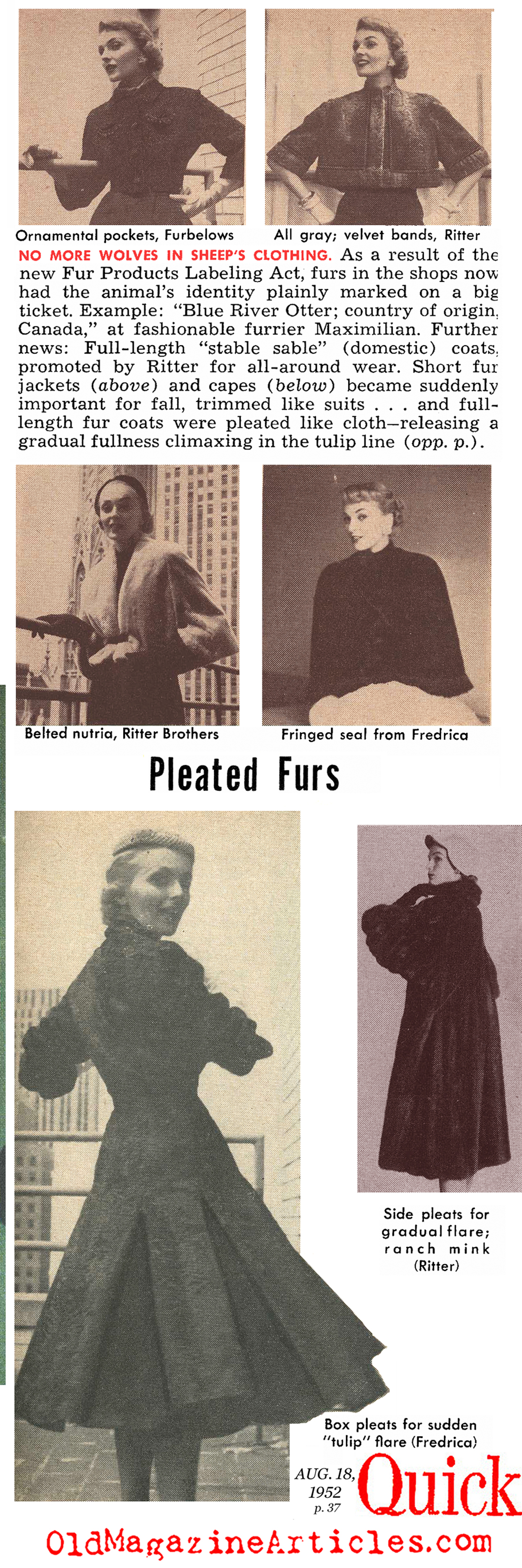Article Fashion Google Search: Old Magazine Articles