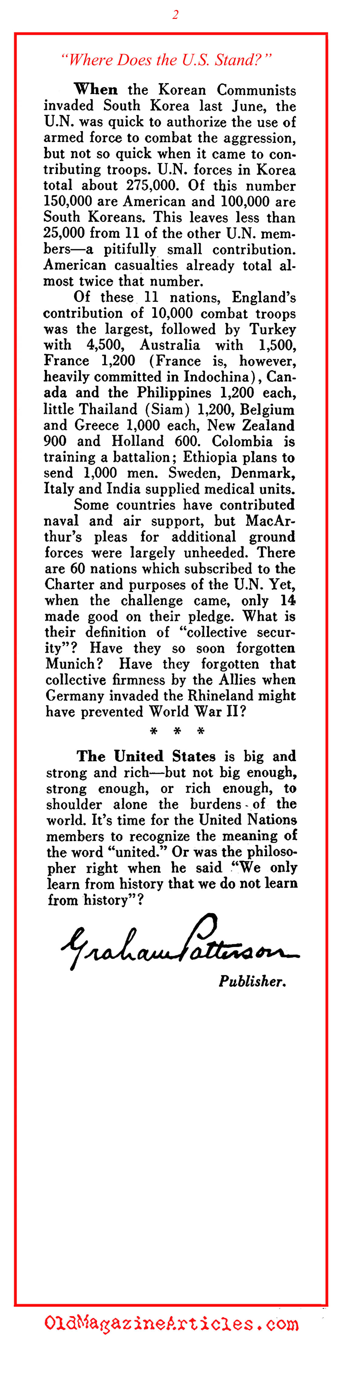 define collective security how is this About ten days after the opening of the 58th session of the united nations (un) general assembly on november 4, 2003, the un secretary general kofi anan announced and formed a group of high.