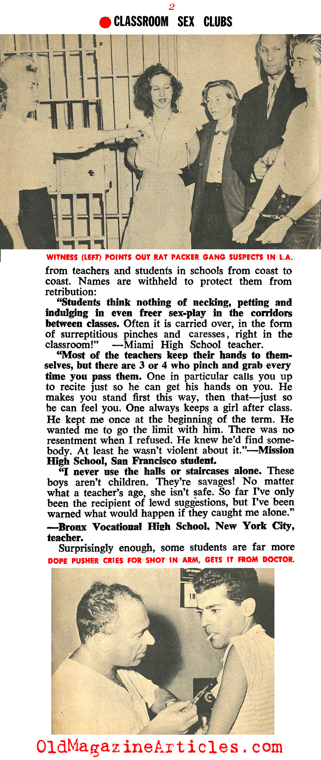 Delinquency and Other Shenanigans (Quick Magazine, 1955)