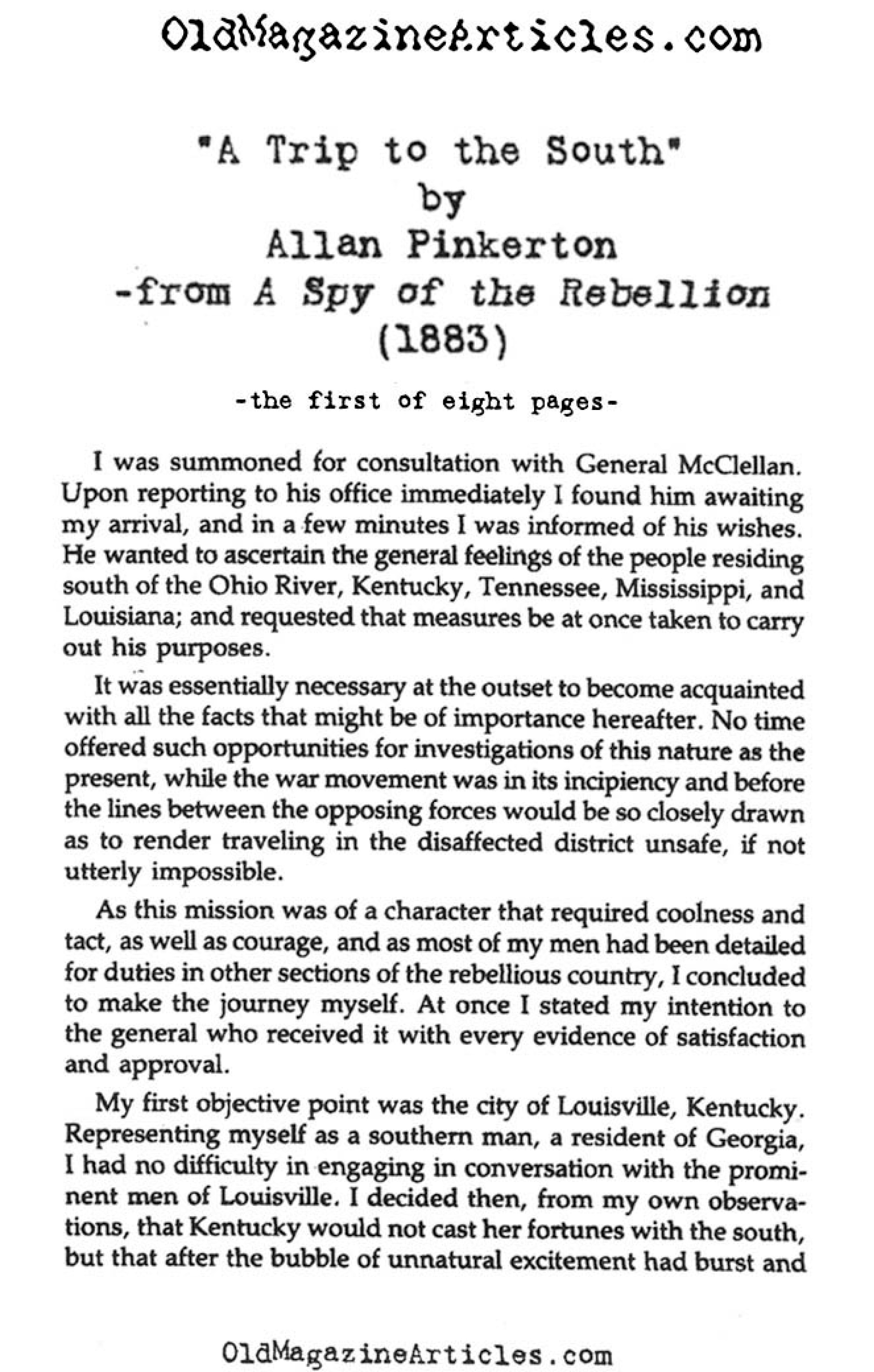 essay on spies