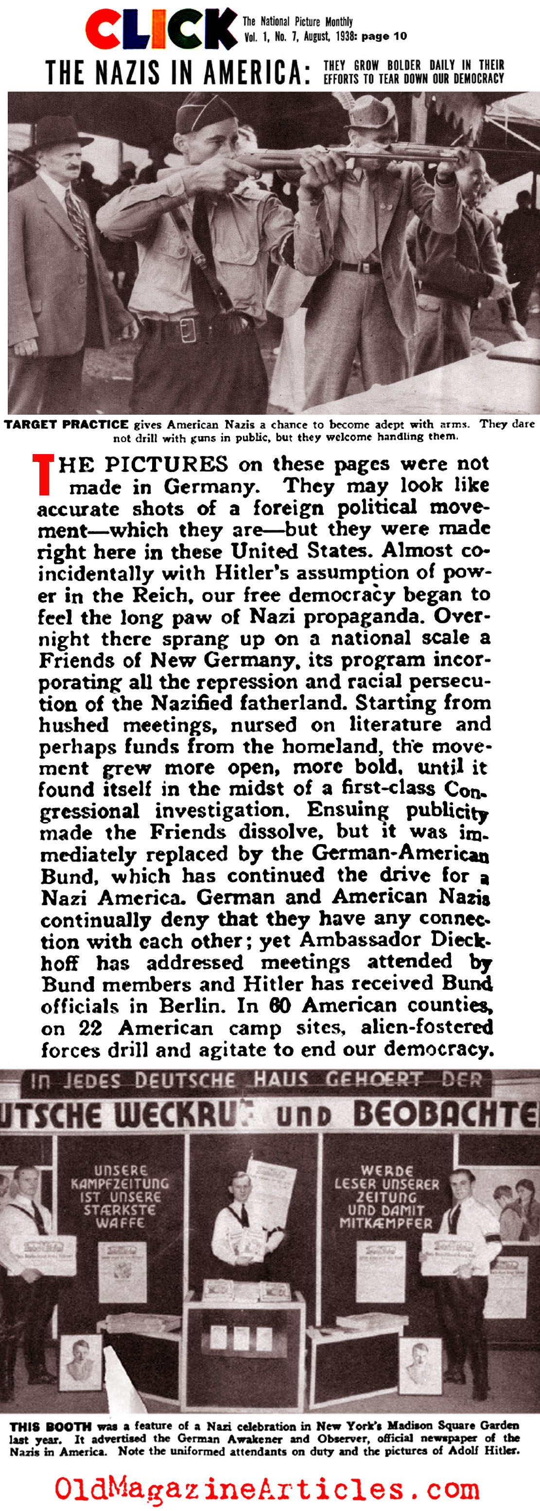 nazi party essay Published: mon, 5 dec 2016 adolf hitler and the nazi party wholeheartedly believed that by applying a selective breeding scheme encouraged by social darwinism, that the human genome could be greatly improved - similar to applying this notion towards breeding superior strains of dog and cattle as seen today.