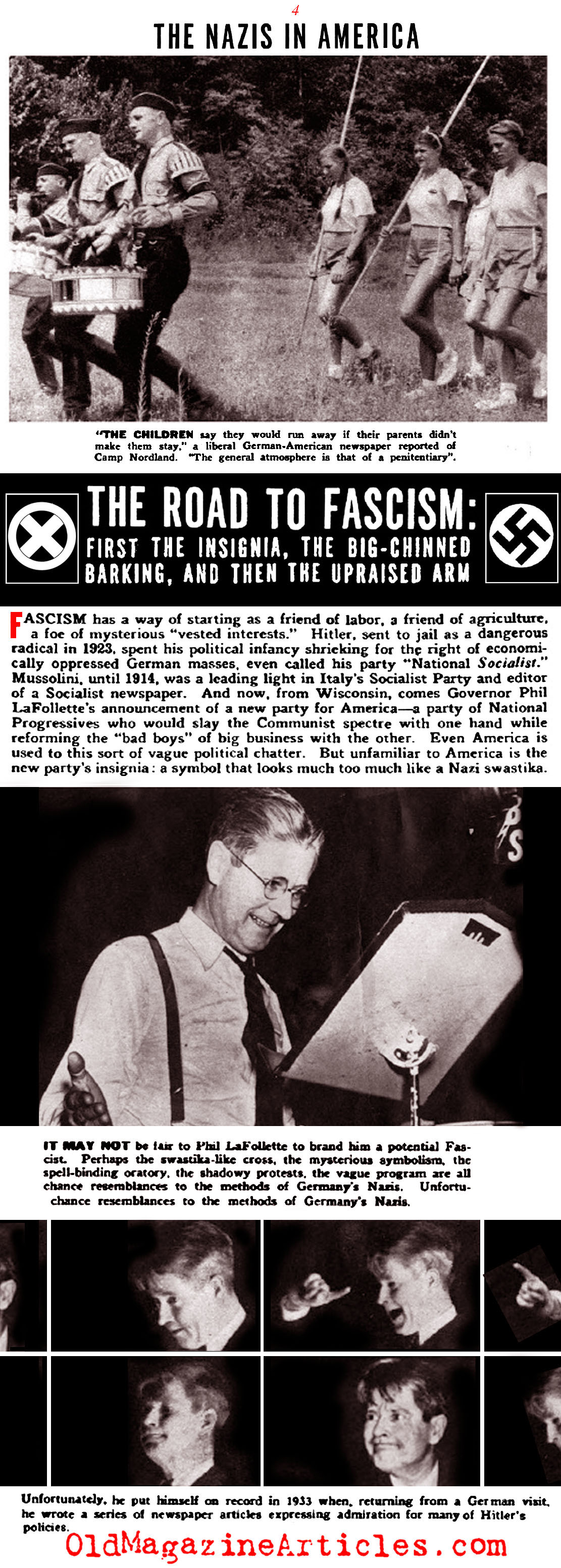 1930s camp nordland new jersey american nazis at camp nordland new american nazis click magazine 1938 biocorpaavc Image collections