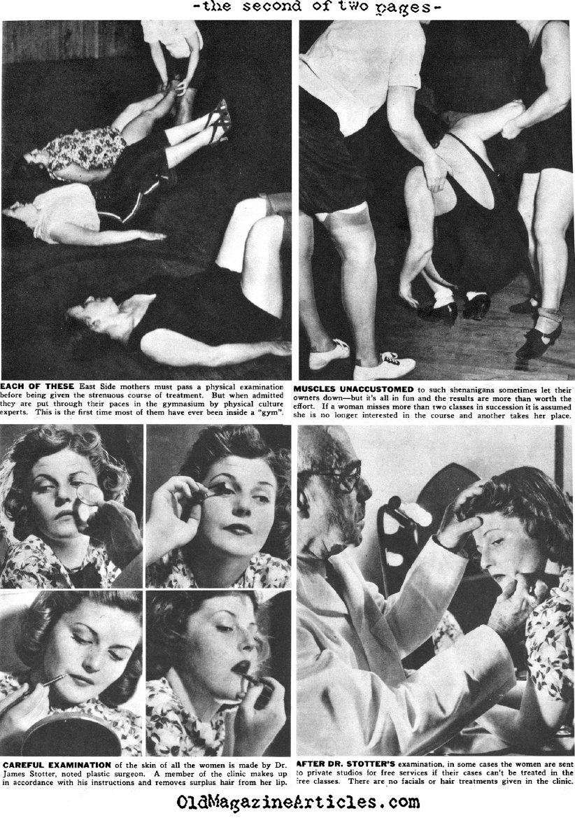 Beauticians Without Borders (Click Magazine, 1938)