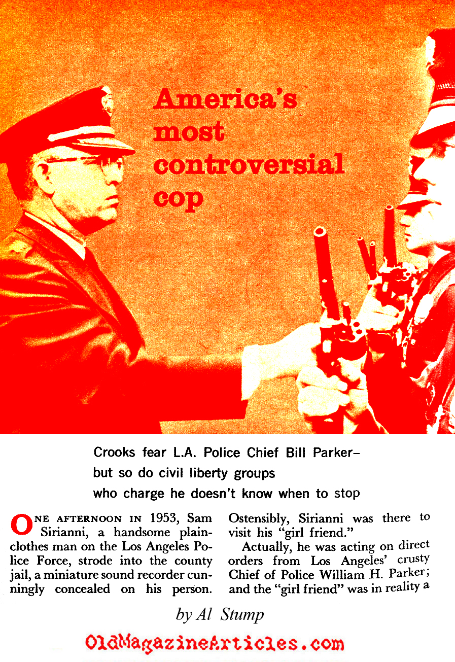 The Cop Who Beat Mickey Cohen (Coronet Magazine, 1960)