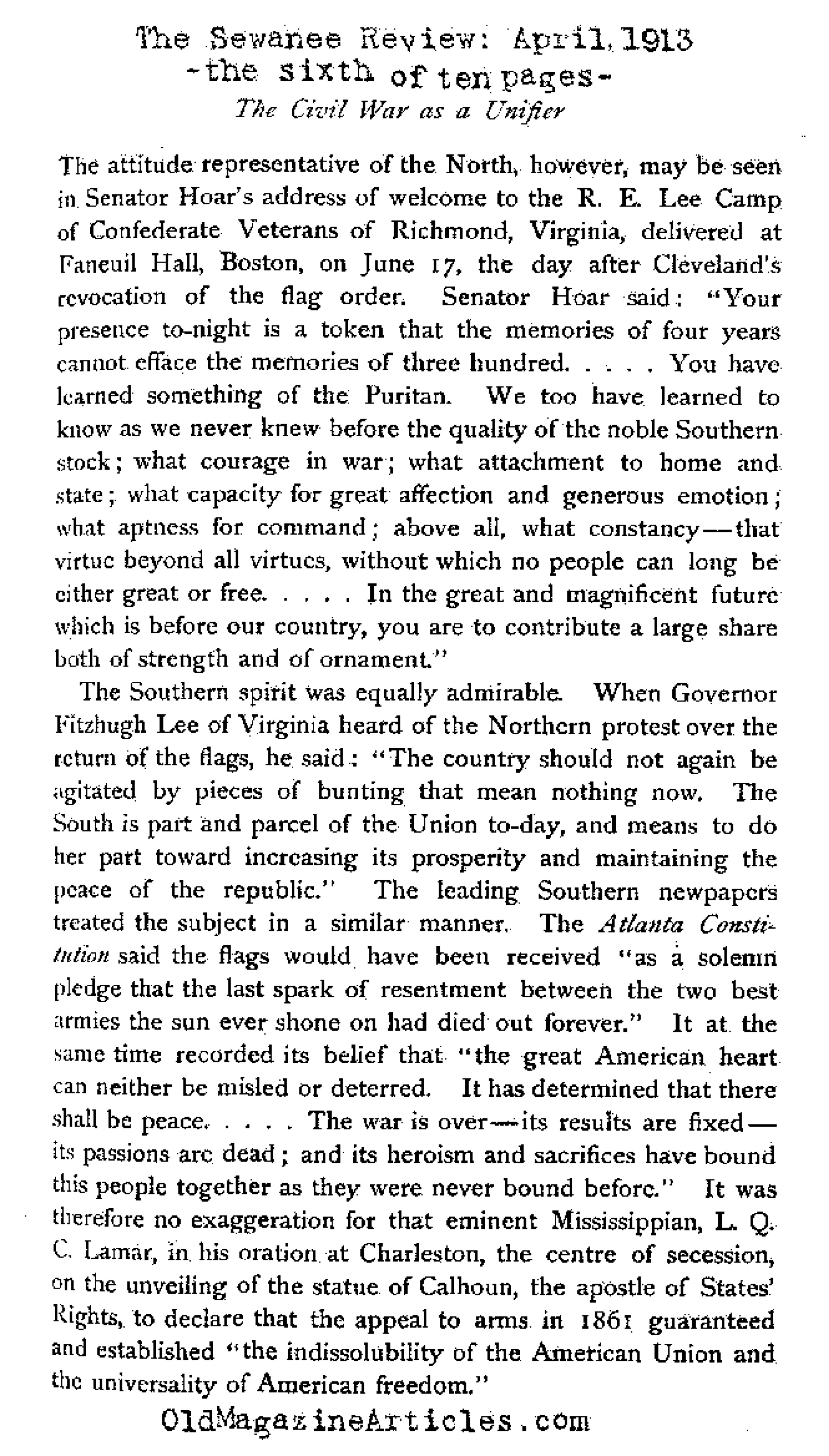 an overview of the changes in the american history brought by the civil war English civil war history influenced new england before the american revolution english history influenced the thinking of american colonials, so that americans in the 1700's repeated the same arguments that englishmen used against king charles i and his use of taxation and an army in the 1600's.