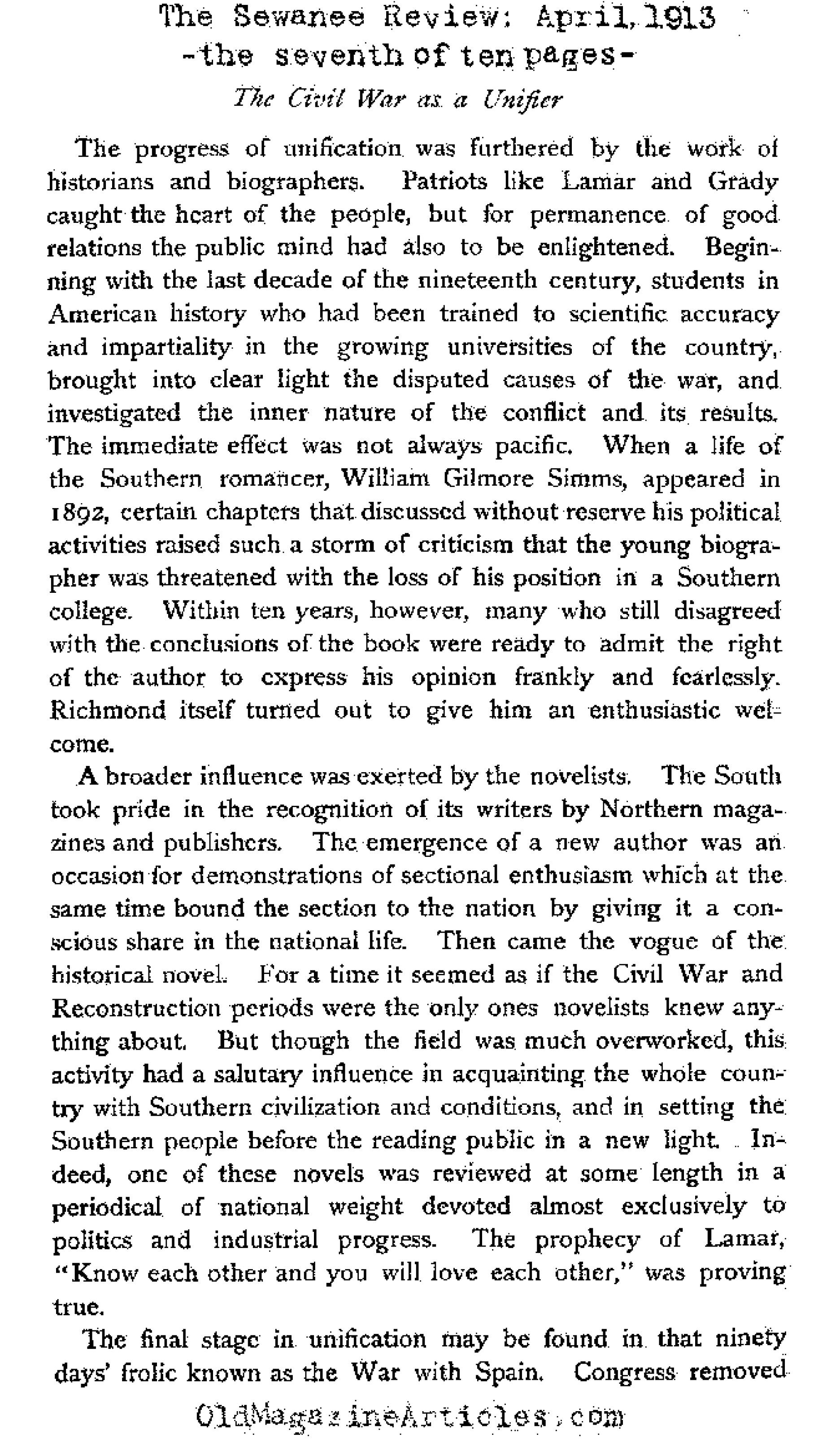 dudley historian of the american civil war civil war