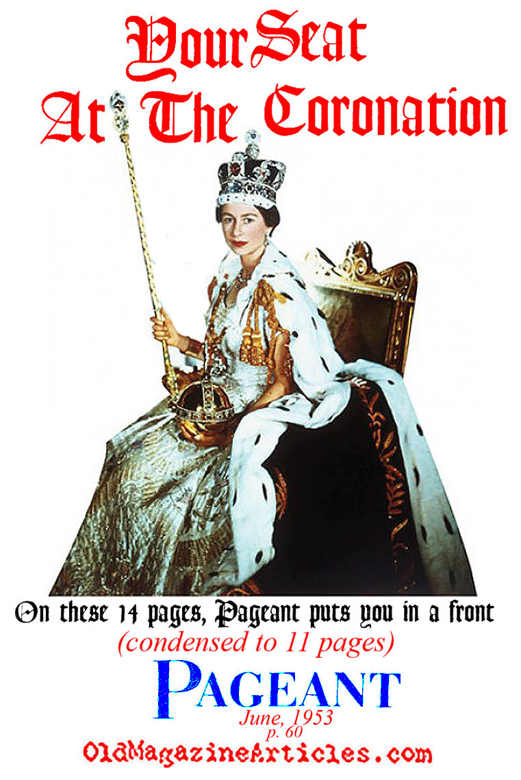 Coronation (Pageant Magazine, 1953)