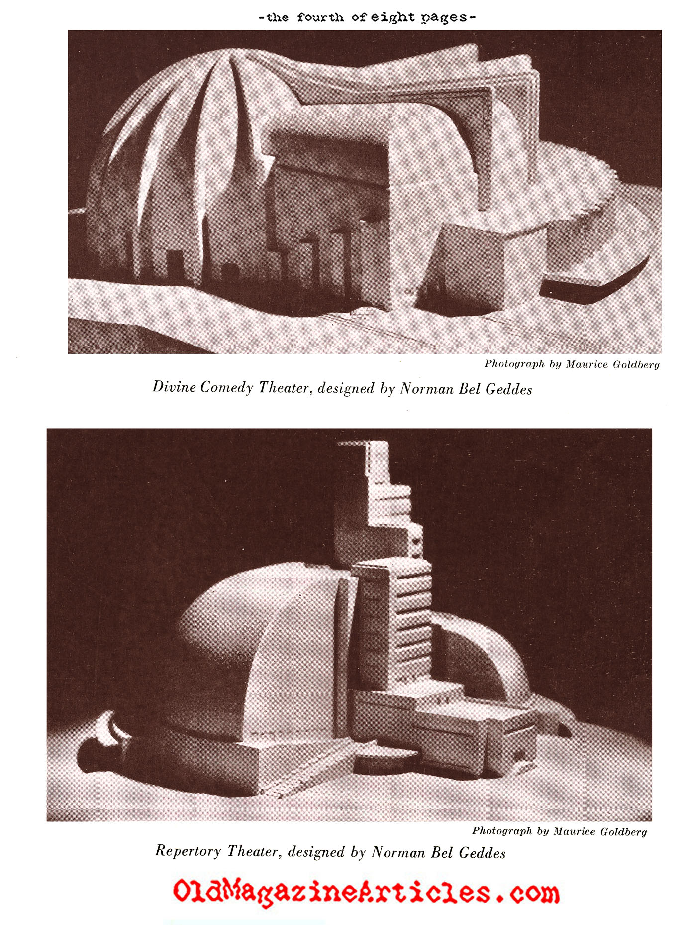 Norman Bel Geddes (Creative Art Magazine, 1933)
