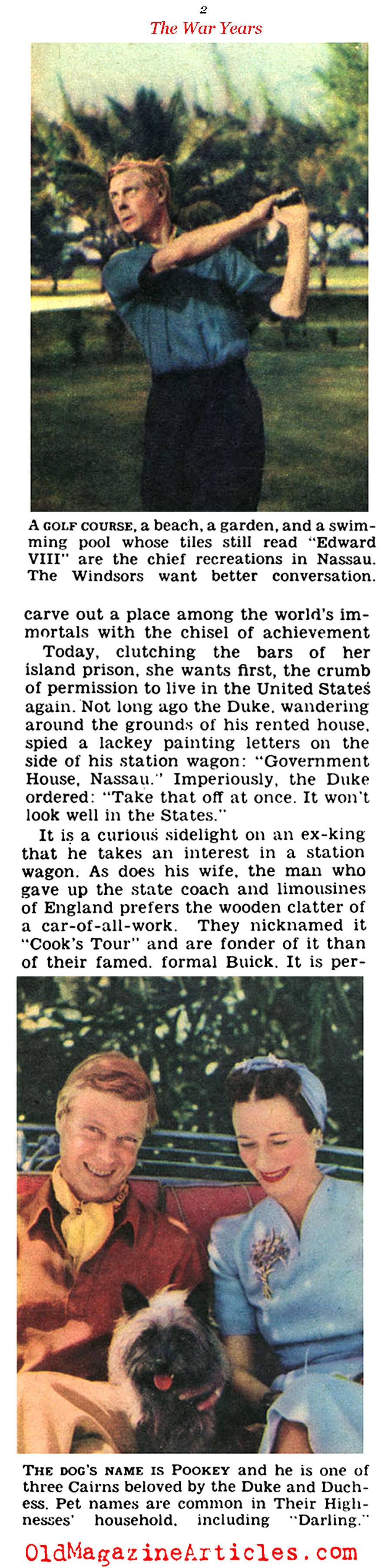 Stuck in Nassau (Click Magazine, 1941)