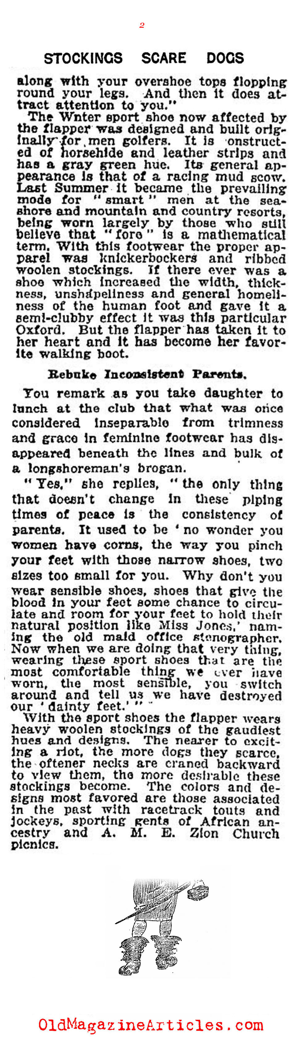 The Winter Look for Flappers (New York Times, 1922)