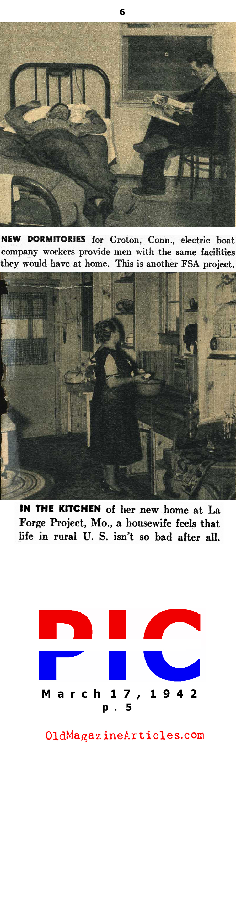When the Depression Lingered Into the War Years (Pic Magazine, 1942)