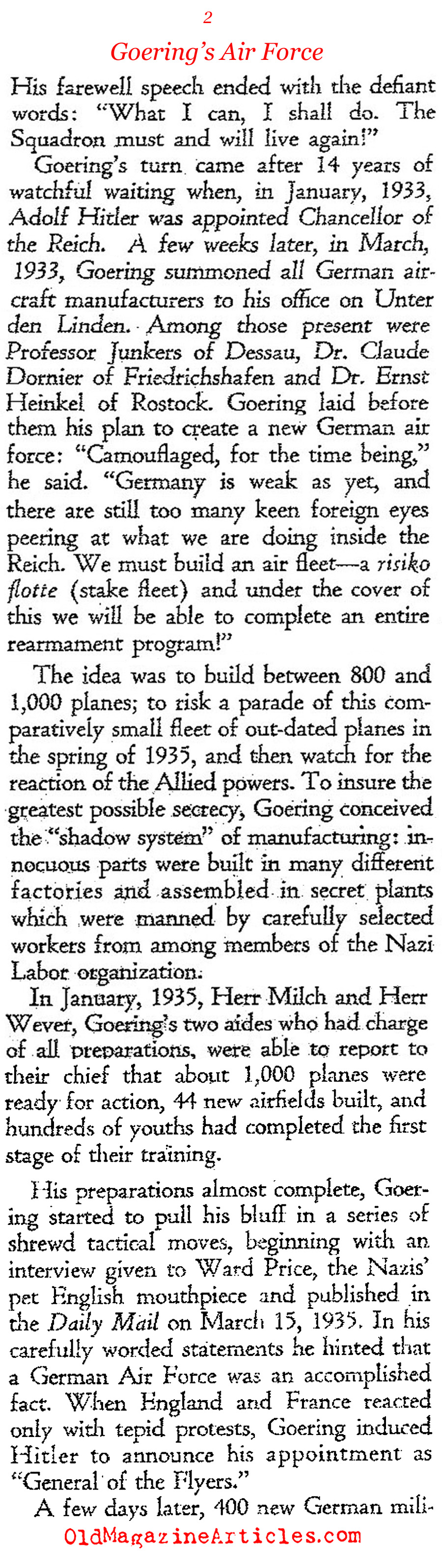 The Boeing Collaboration (Ken Magazine, 1939)