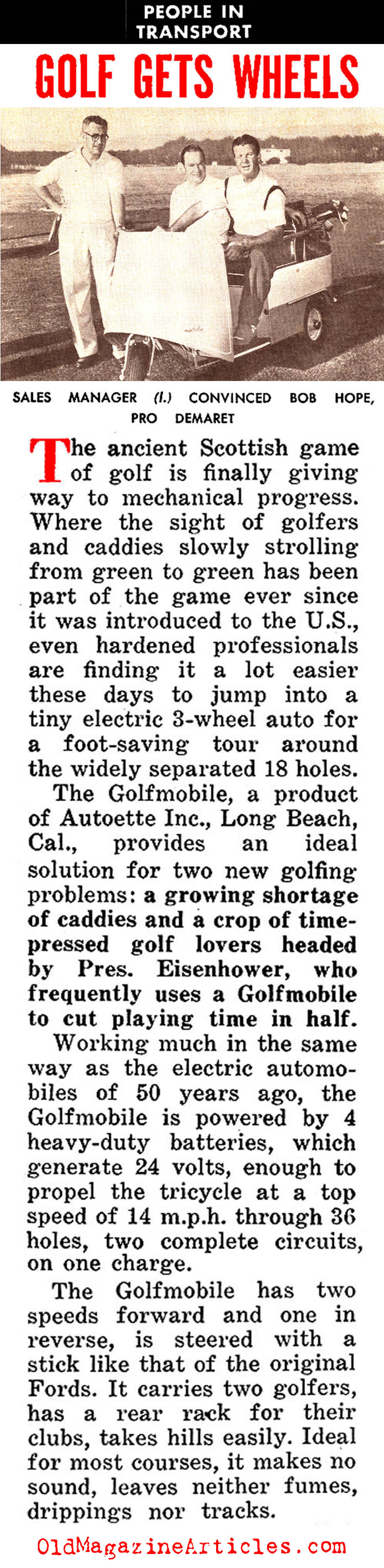Golf Gets Easier... (People Today, 1954)
