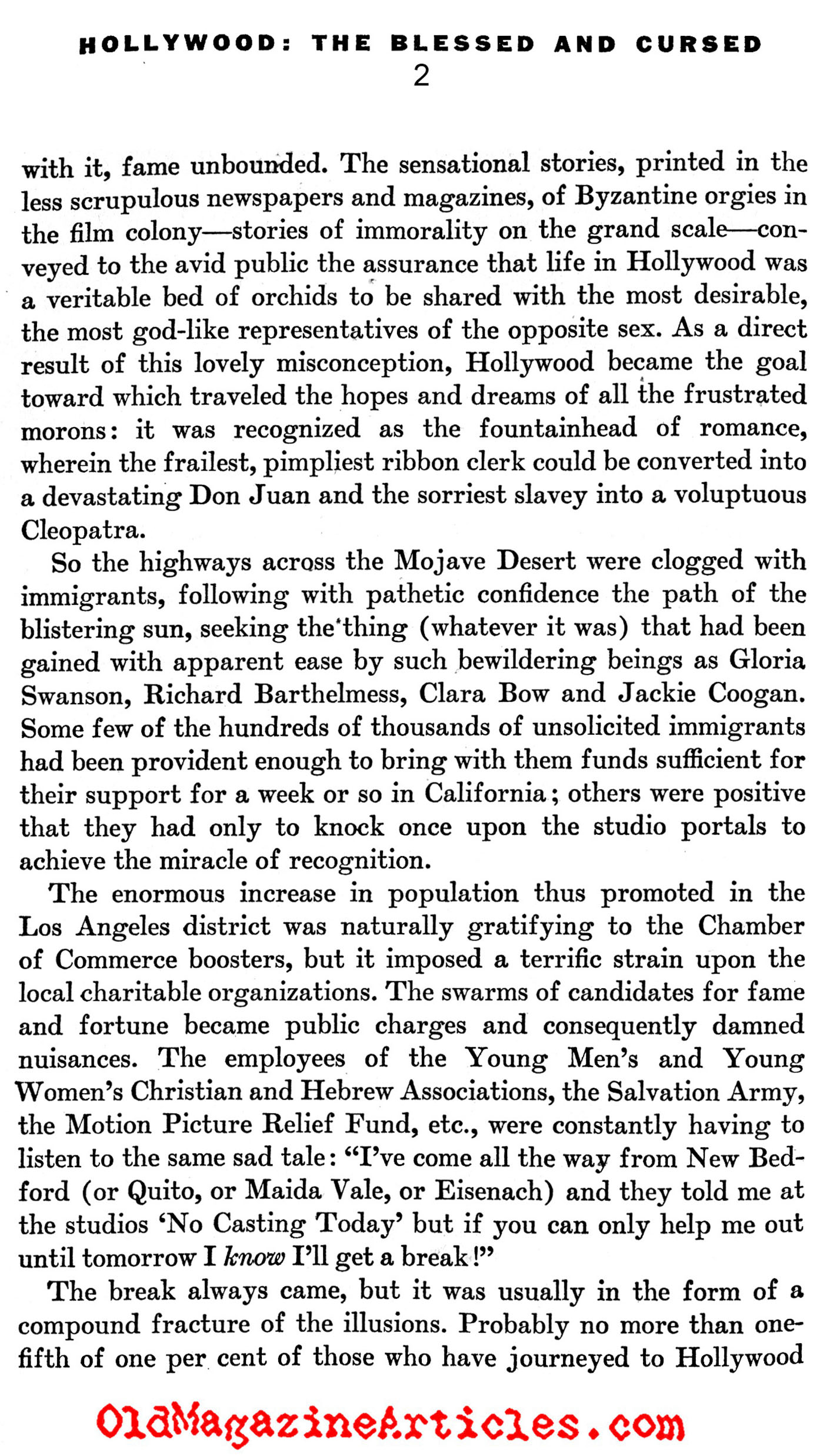 The Birth of Hollywood Filmmaking (America, 1932)