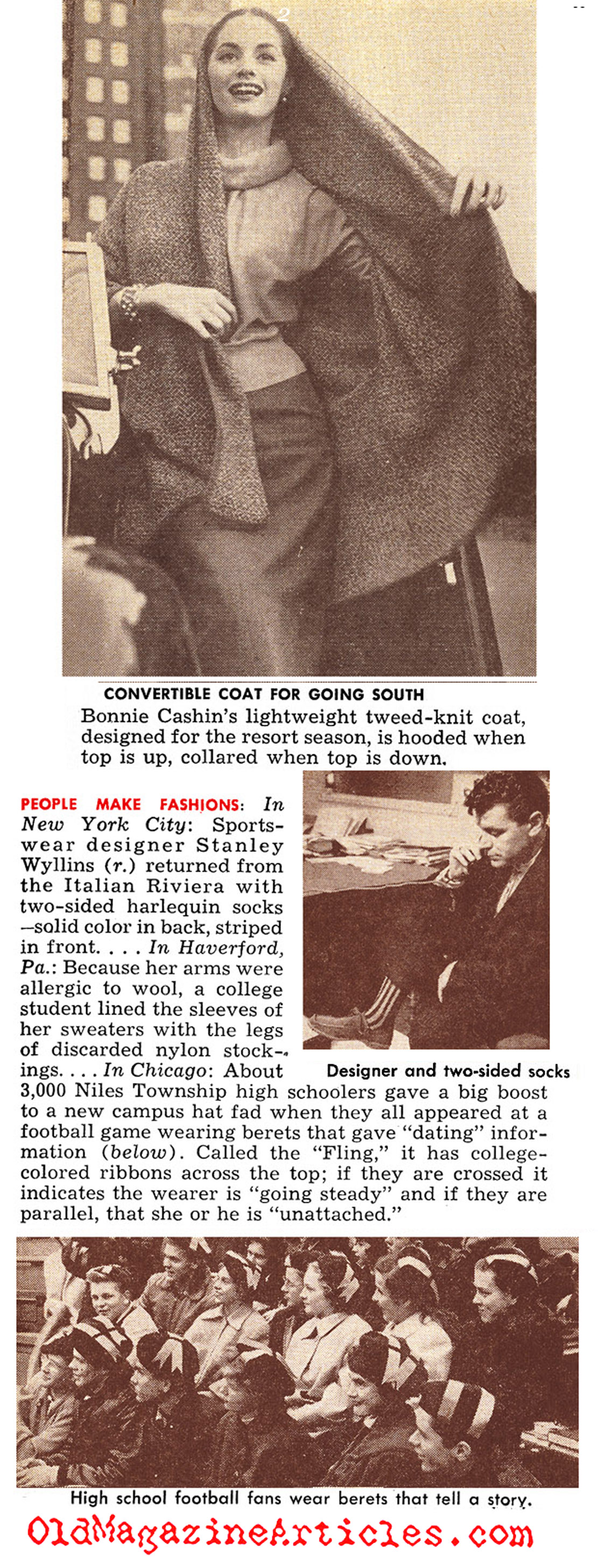 Swank in the Cold (Quick Magazine, 1952)