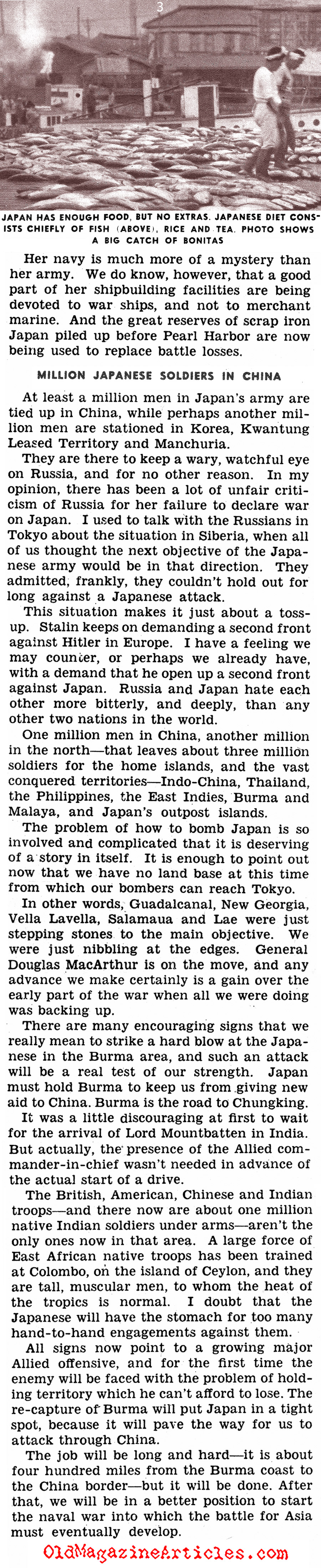 When Japan Went on the Defensive (Click Magazine, 1943)