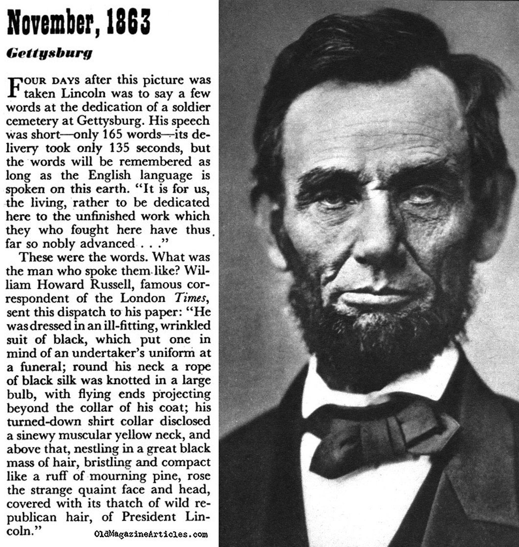 time magazine article abraham lincoln