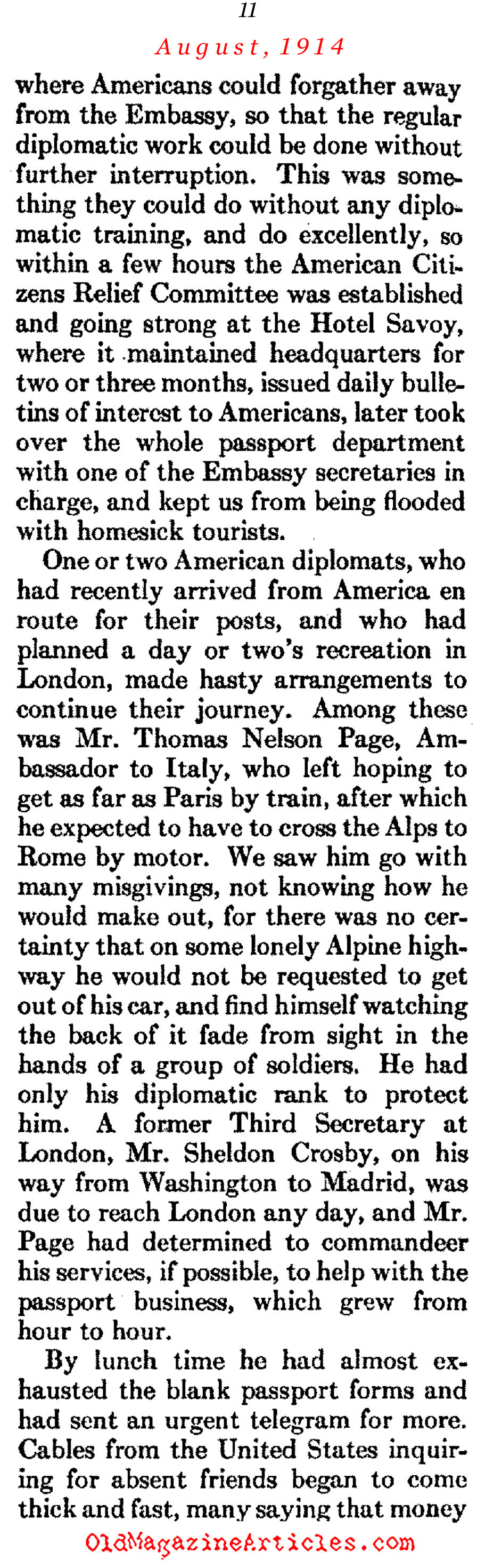 What the Stenographer Saw... (Atlantic Monthly, 1930)