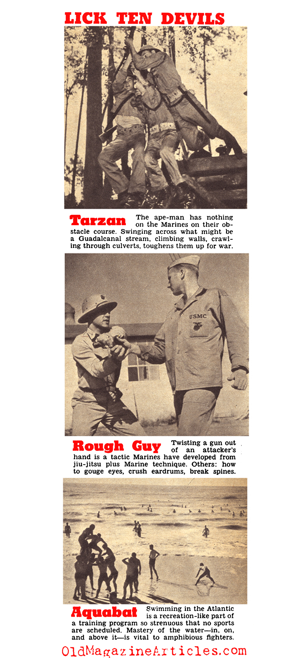 Who are the U.S.Marines? (Click Magazine, 1943)