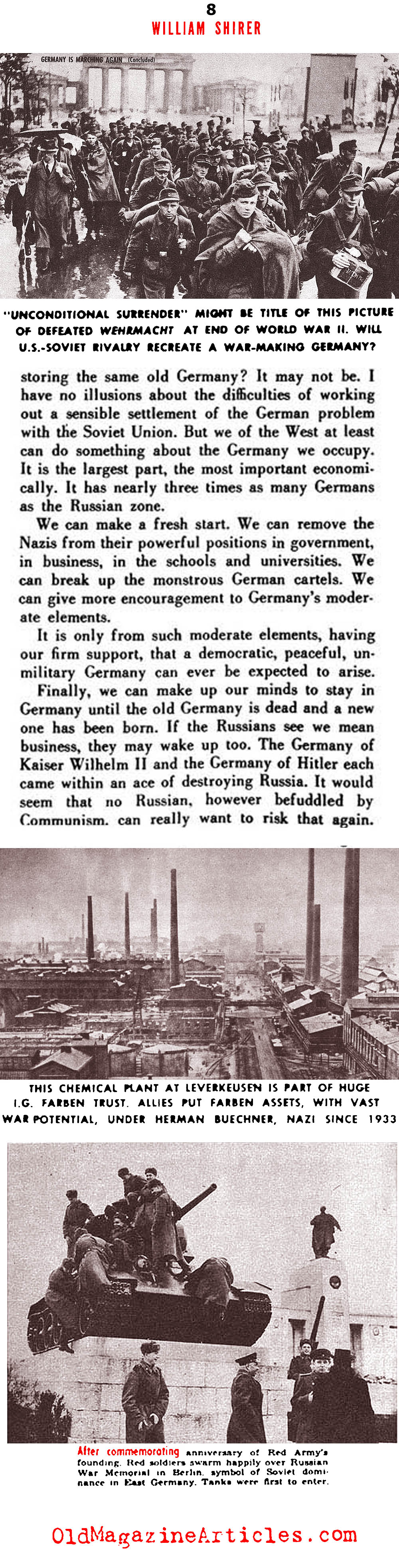 Germany, The Unrepentant (See Magazine, 1950)