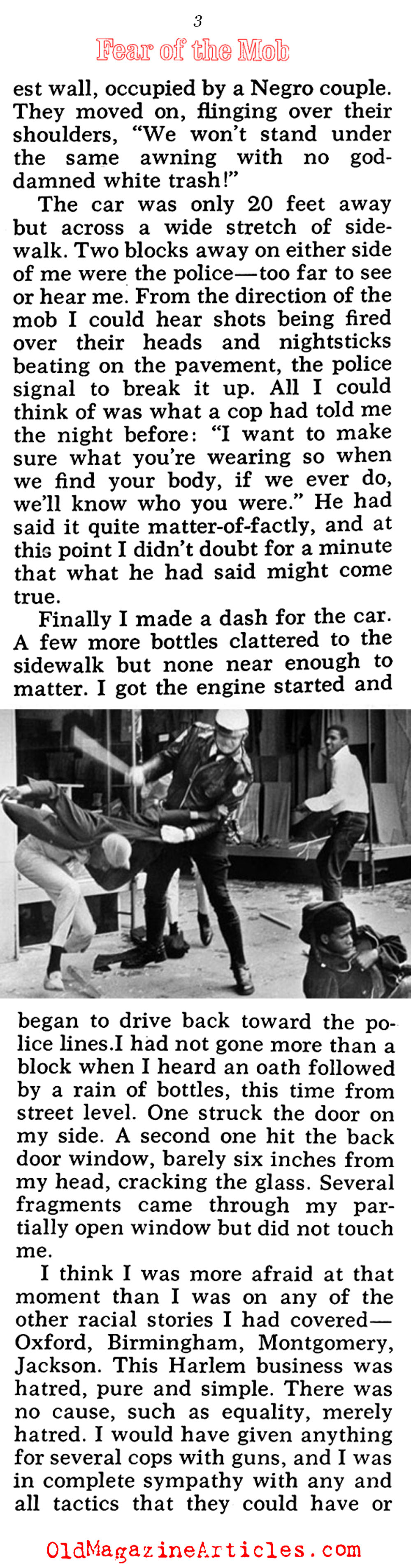 The 1964 Harlem Race Riot (Pageant Magazine, 1964)