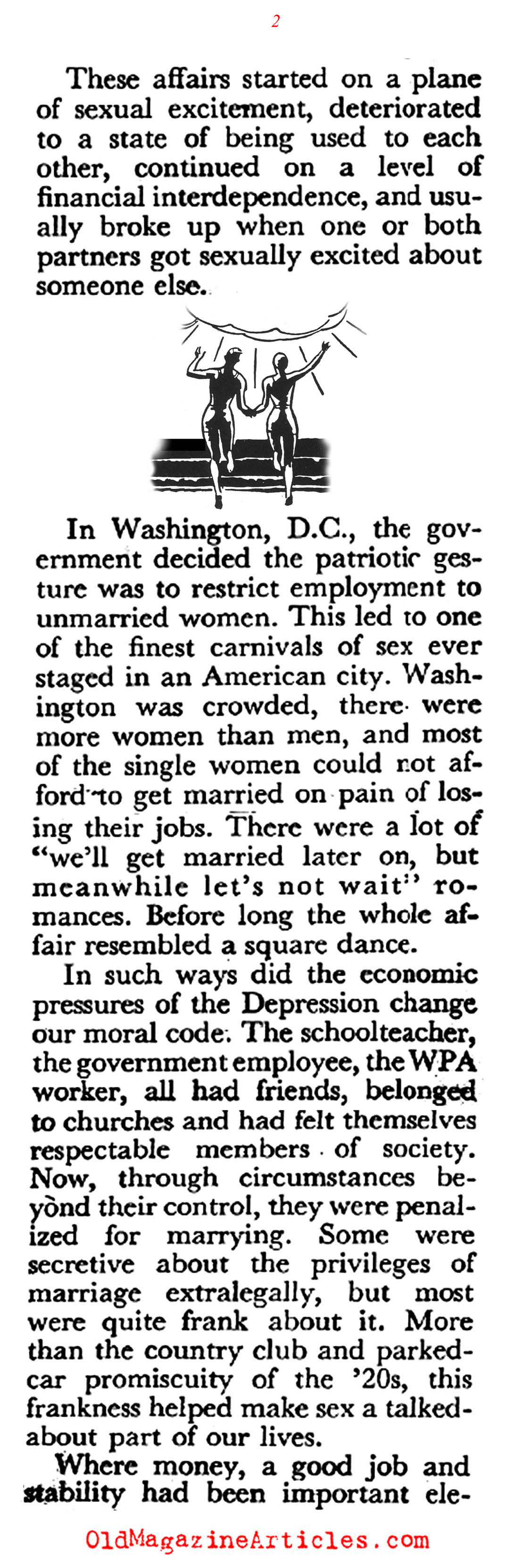 The Great Depression and the Sexes (Coronet Magazine, 1947)