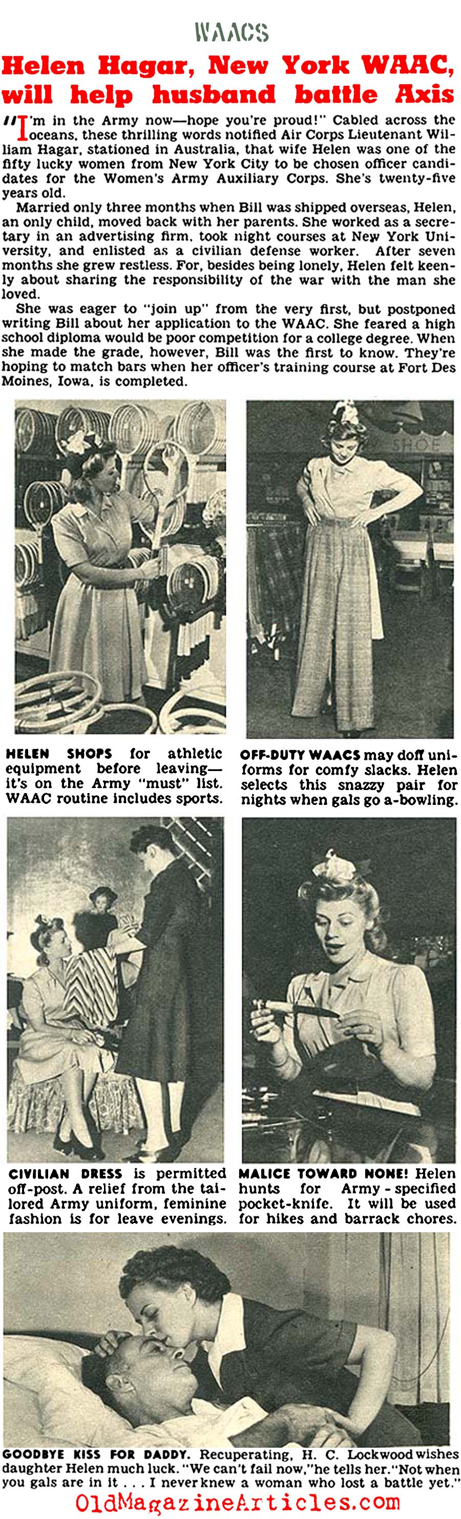 ''What Kind of Women are the WAACs?'' (Click Magazine, 1942)