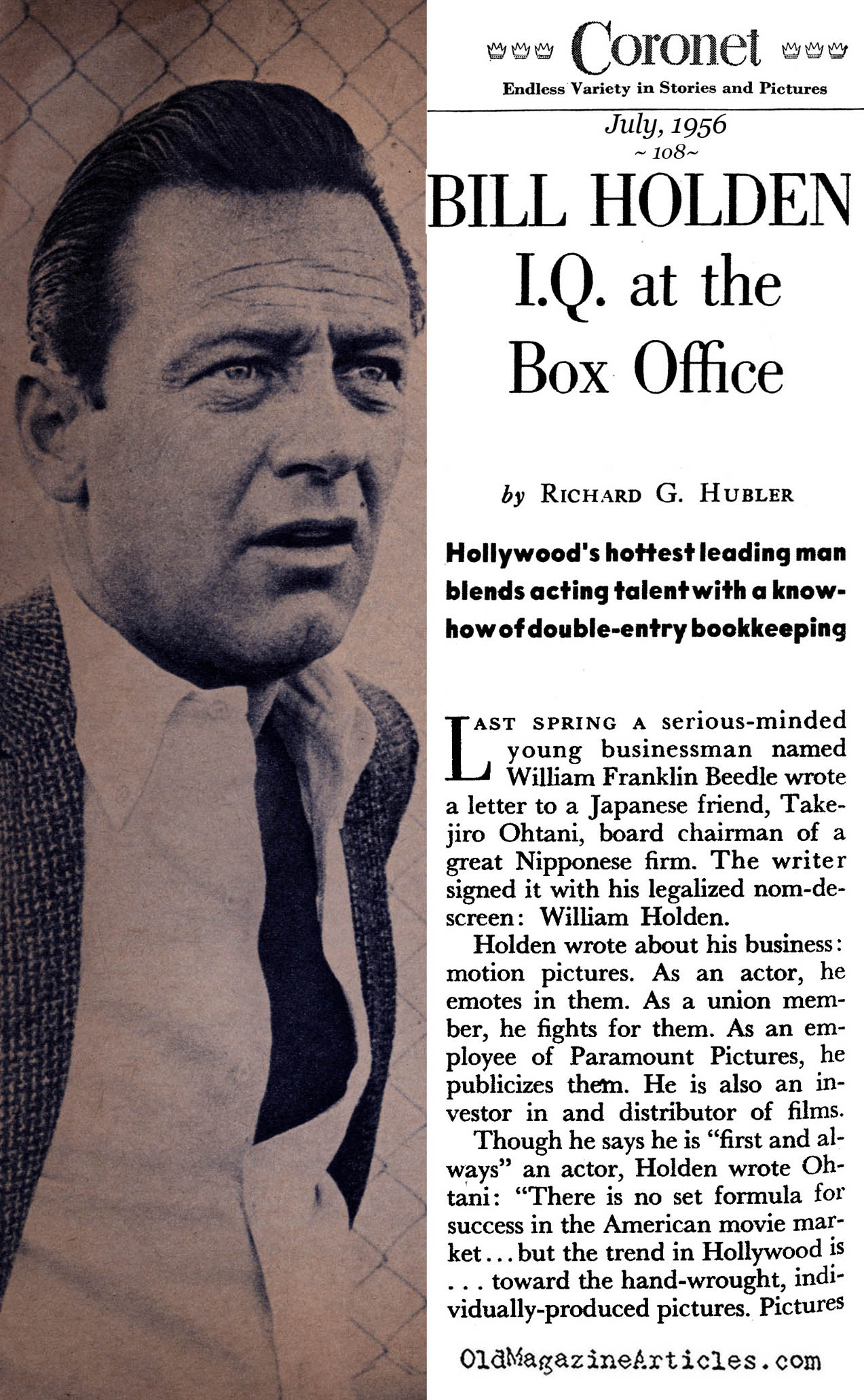 william holden movies