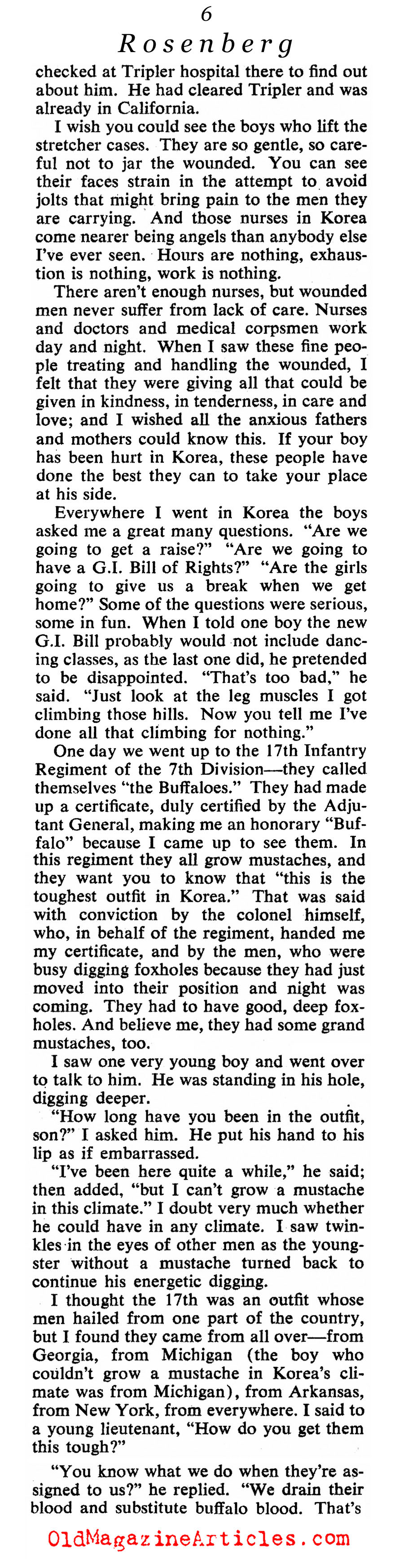''This I Saw In Korea'' (Collier's Magazine, 1952)