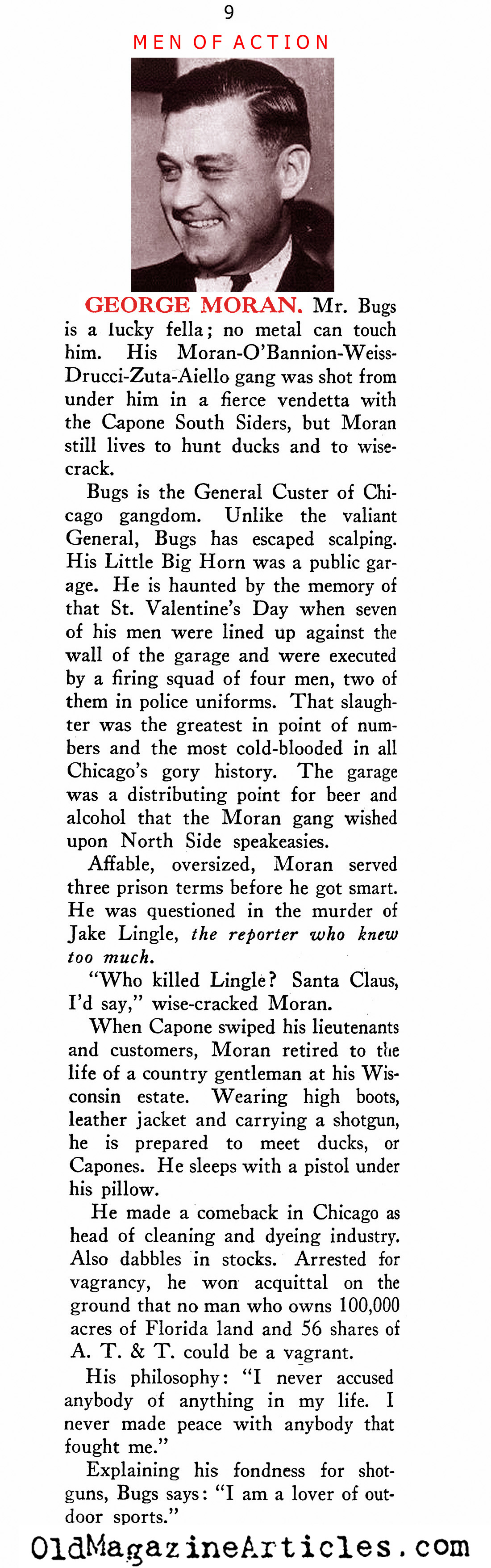 The Mobsters (New Outlook Magazine, 1933)