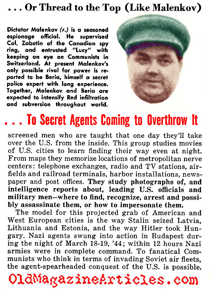 Highlights of Soviet Espionage: 1949 - 1953 (People Today, 1953)