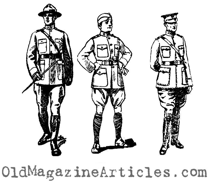 wwi doughboy officer drawings ww1 clip art ww1 american war drawings