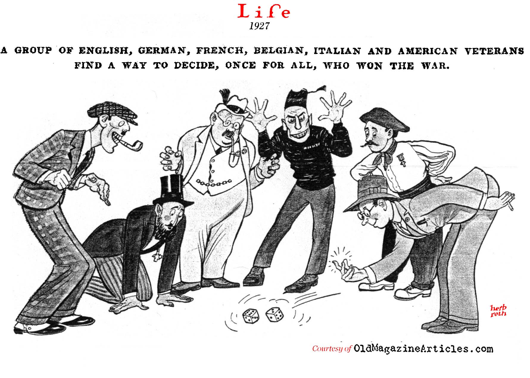Who Won World War One? (Life Magazine, 1927)